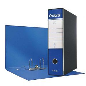 Registratore Oxford Protocollo G85 dorso 8 Blu