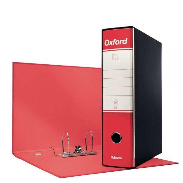 Registratore Oxford Protocollo G85 dorso 8 Rosso
