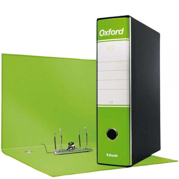 Registratore Oxford Protocollo G85 dorso 8 Verde Lime