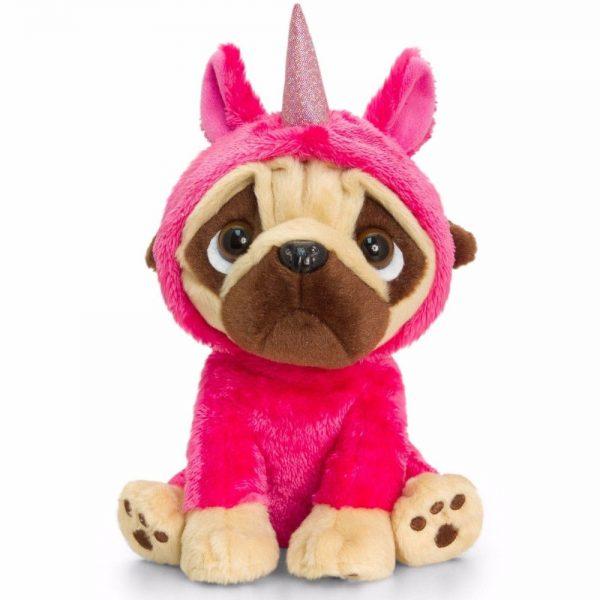 Kell Toys peluche Pugsley in Unicorn