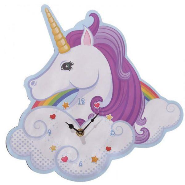 Orologio da parete Unicorno