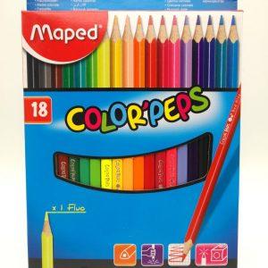 Matite colorate Maped scatola da 18