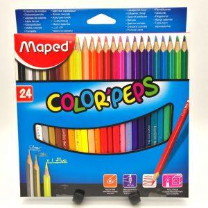 Matite colorate Maped scatola da 24
