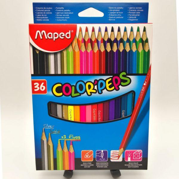 Matite colorate Maped scatola da 36