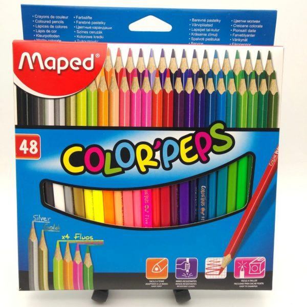 Matite colorate Maped scatola da 48