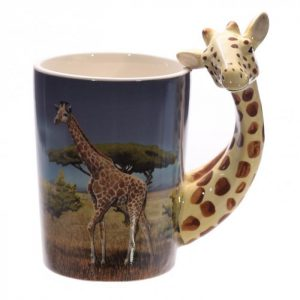 Tazza Decorata - Giraffa
