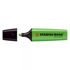 Evidenziatore Stabilo Boss Original verde