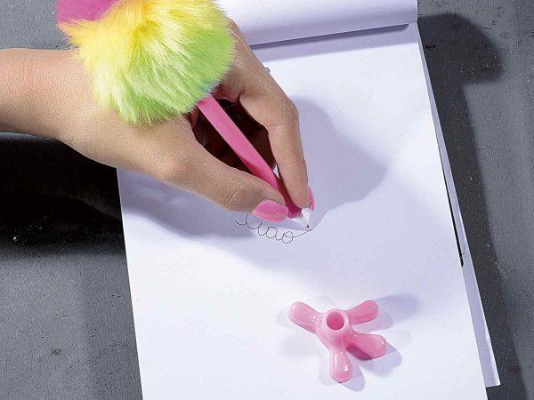 Penna Fenicottero con piume colorate