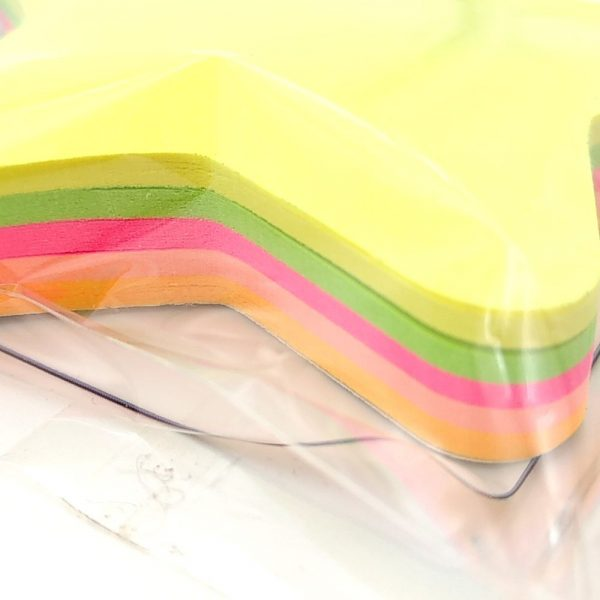 Notes adesivi riposizionabili sagomati